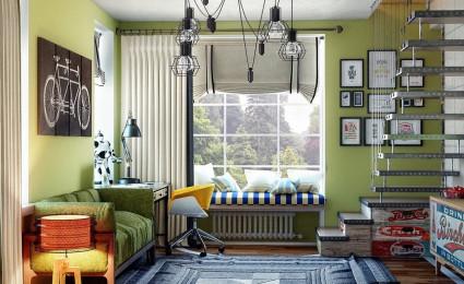 Gợi  ý thiết kế phòng ngủ cho tuổi teen