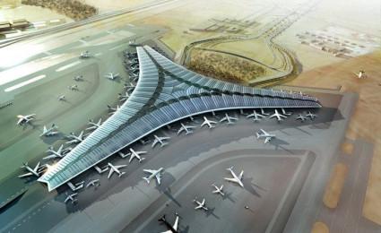 Thiết kế tuyệt đẹp của sân bay quốc tế Kuwait