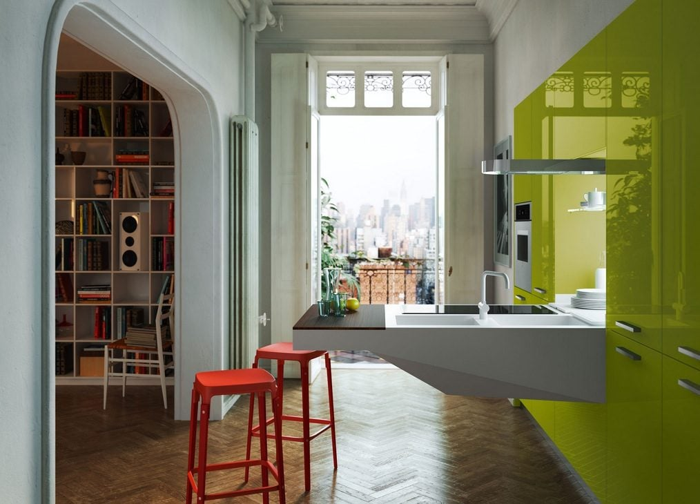 lime-green-cabinets