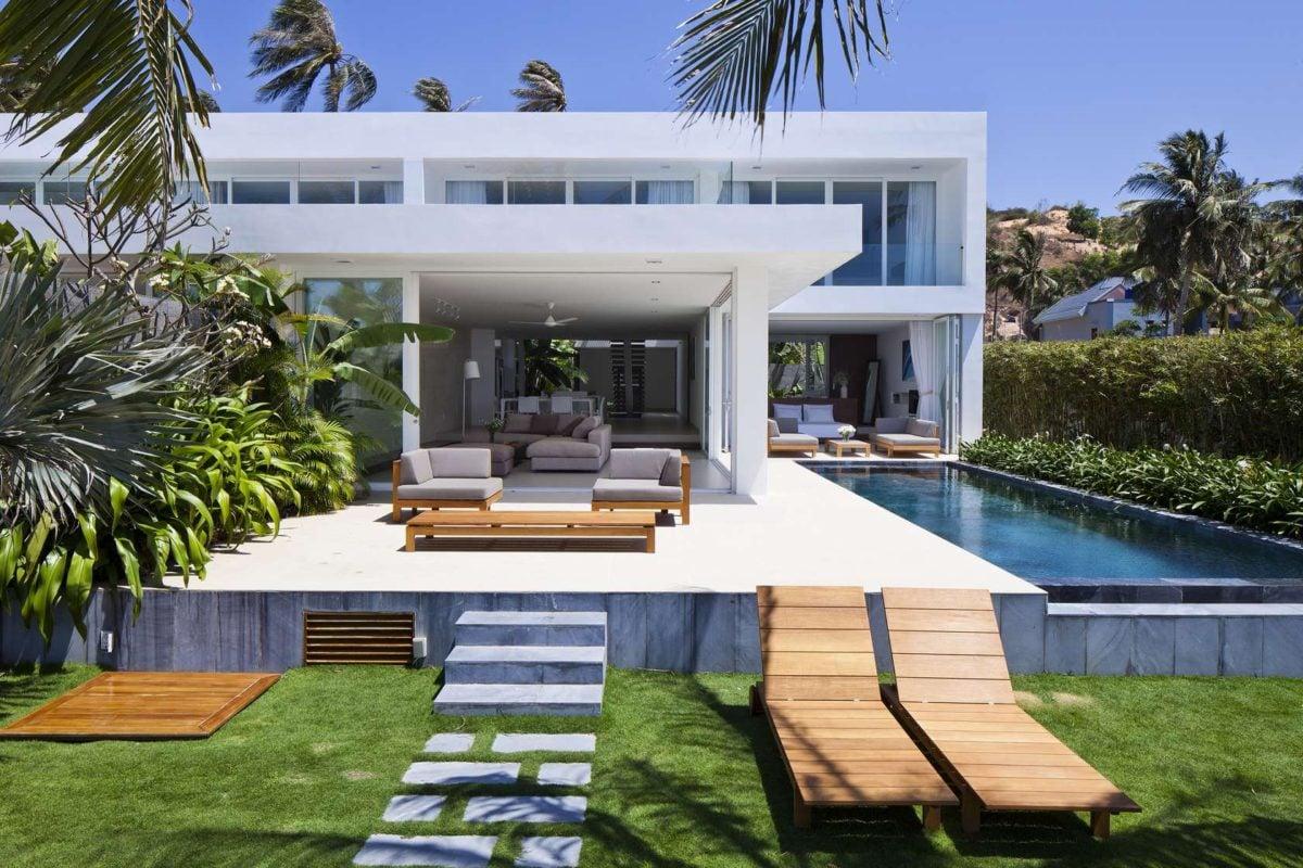 patio design Oceanique, dự án biệt thự sát biển. qpdesign