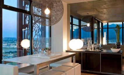 15 cách trang trí phòng ăn bằng gương