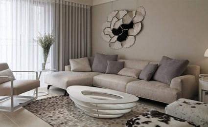 Thiết kế nội thất chung cư theo gam màu trung tính