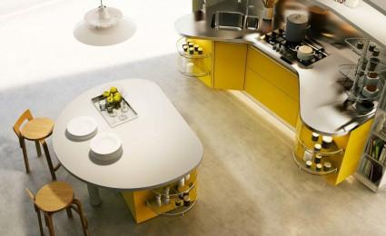 Mẫu nhà bếp hiện đại theo kiểu Ý