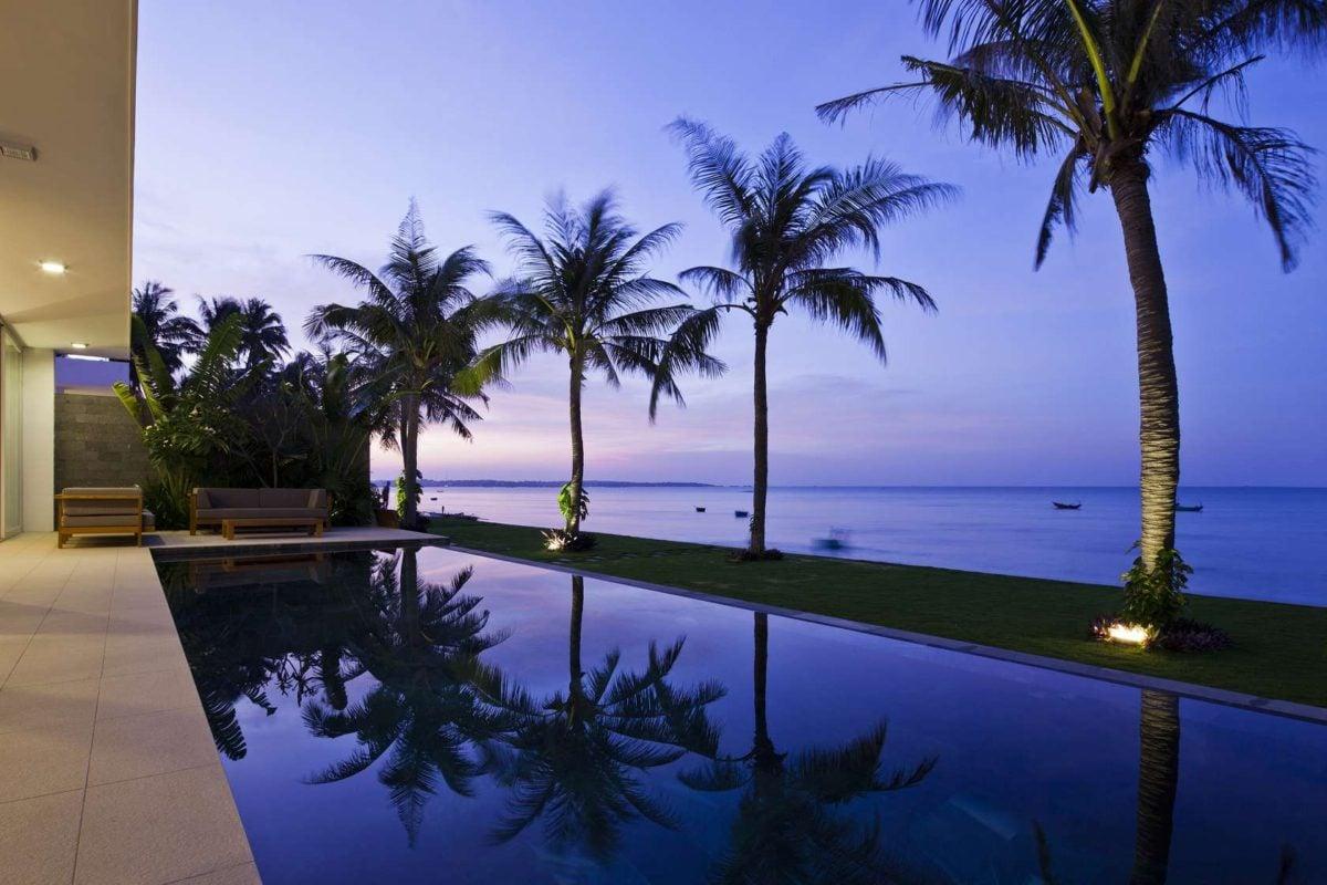 vietnam beach view Oceanique, dự án biệt thự sát biển. qpdesign