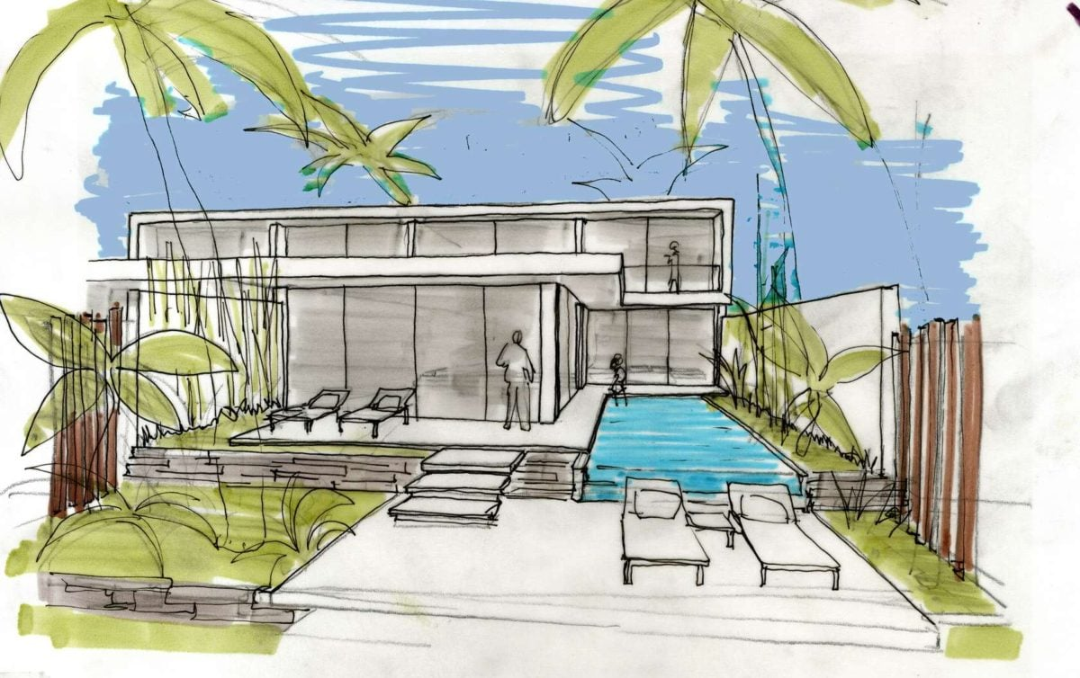 villa-design-sketch