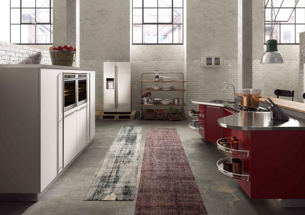 wine-colored-kitchen