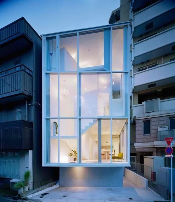131 Thiết kế nhà kính nổi bật tại Nhật Bản qpdesign