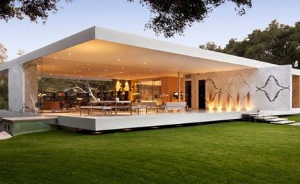 Ngôi nhà kính hiện đại tại California