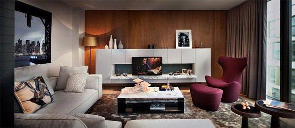 penthouse 1 Căn hộ Penthouse tại Anh với thiết kế ấn tượng qpdesign