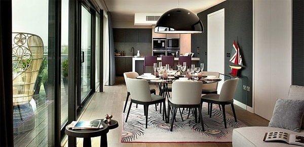 penthouse 3 Căn hộ Penthouse tại Anh với thiết kế ấn tượng qpdesign