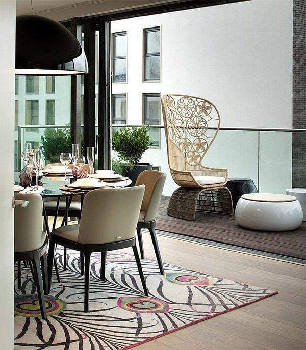 penthouse 4 Căn hộ Penthouse tại Anh với thiết kế ấn tượng qpdesign