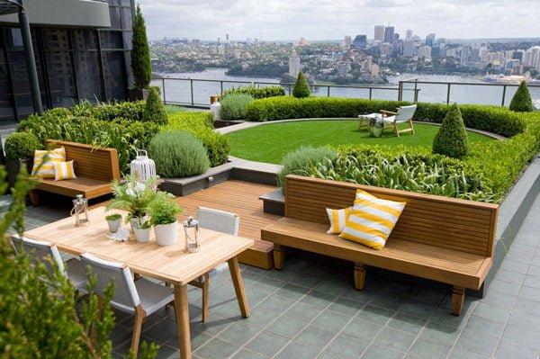san thuong 1 12 mẫu thiết kế vườn sân thượng tuyệt đẹp qpdesign