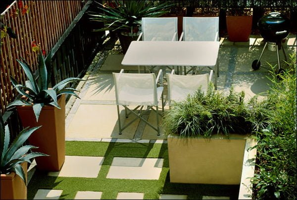 thiết kế sân thượng đơn giản mà đẹp mắt