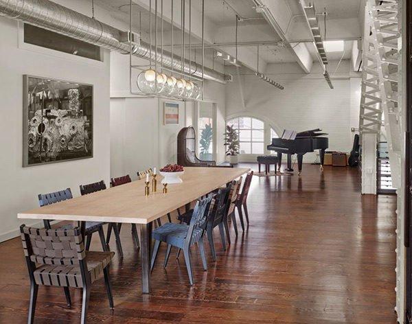 phong an 10 15 mẫu phòng ăn theo phong cách công nghiệp ( LOFT STYLE ) qpdesign