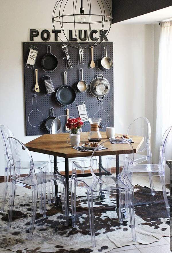 phong an 11 15 mẫu phòng ăn theo phong cách công nghiệp ( LOFT STYLE ) qpdesign