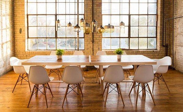 phong an 15 15 mẫu phòng ăn theo phong cách công nghiệp ( LOFT STYLE ) qpdesign