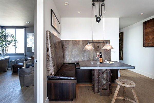 phong an 3 15 mẫu phòng ăn theo phong cách công nghiệp ( LOFT STYLE ) qpdesign