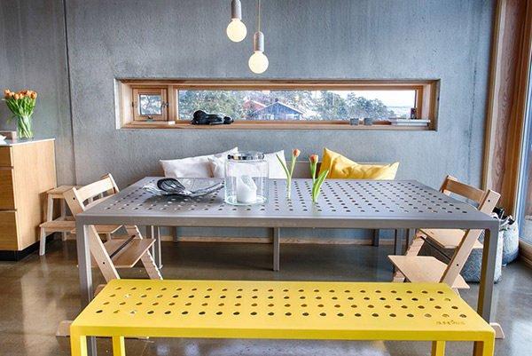 phong an 7 15 mẫu phòng ăn theo phong cách công nghiệp ( LOFT STYLE ) qpdesign