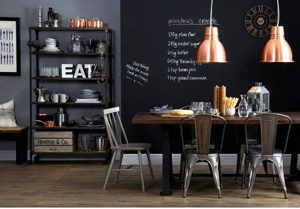 phong an 9 15 mẫu phòng ăn theo phong cách công nghiệp ( LOFT STYLE ) qpdesign