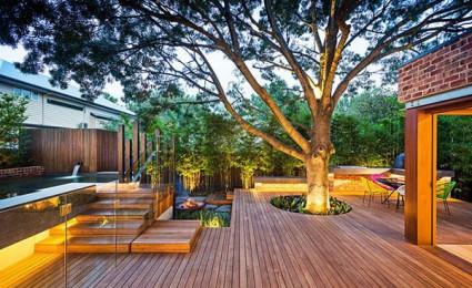 Khu vườn phong cách hiện đại ấn tượng tại Melbourne