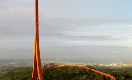 Toà tháp ăng-ten ấn tượng nằm giữa khu rừng miền Tây Thổ Nhĩ Kỳ
