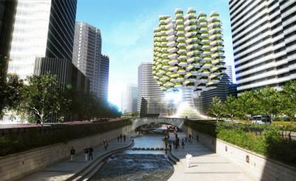Skyfarm – Cao ốc nông trại sẽ được xây dựng đầu tiên tại Hàn Quốc