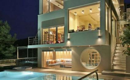 Biệt thự phong cách Futuristic tại Hi Lạp.