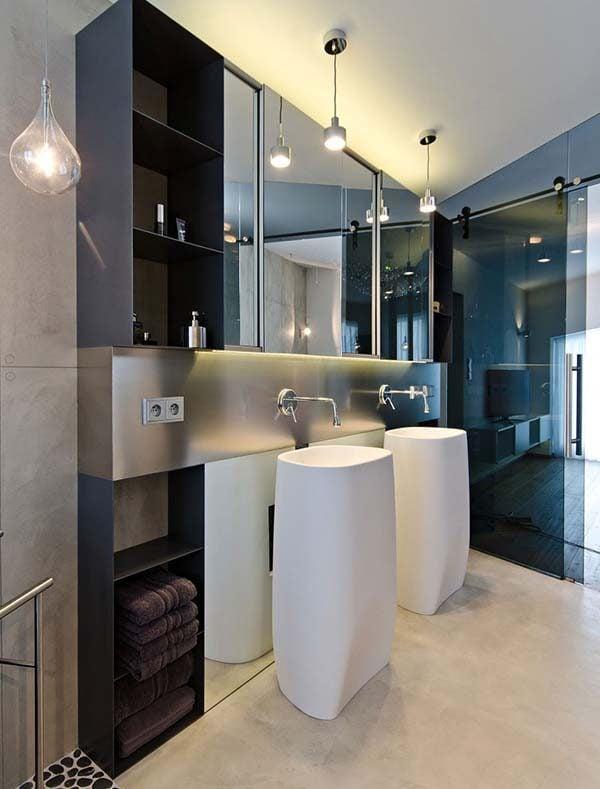 Sử dụng chất liệu xi măng cho ngôi nhà của bạn.