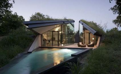 Ngôi nhà dưới lòng đất tại Texas.