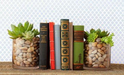 Ý tưởng bày sách đẹp nhưng không tốn công
