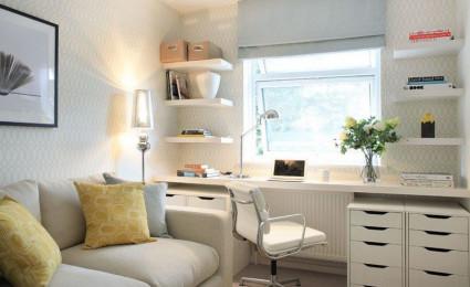 Bàn làm việc nhỏ gọn tiết kiệm không gian cho ngôi nhà
