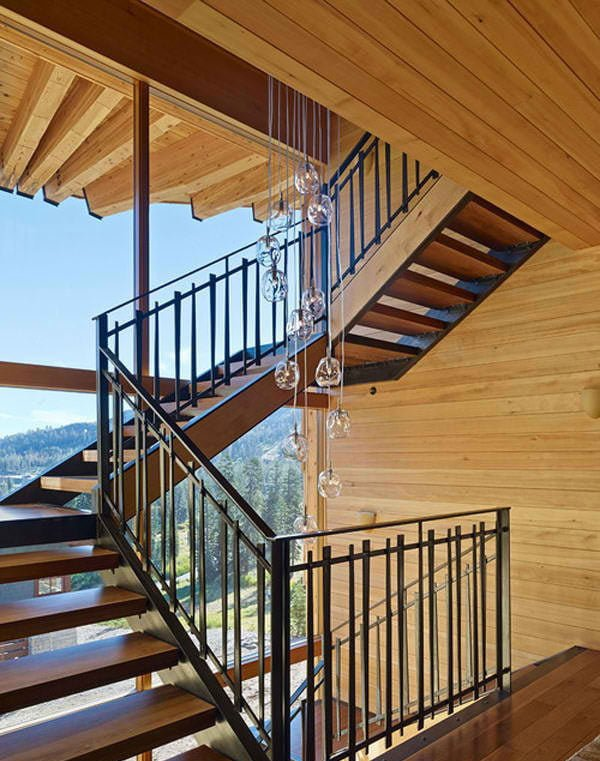 biet thu 11 Cabin trên đỉnh núi tại California. qpdesign