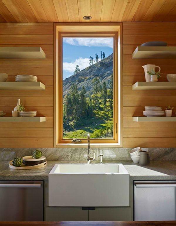 biet thu 8 Cabin trên đỉnh núi tại California. qpdesign
