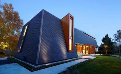 Biệt thự hiện đại ấn tượng tại Canada.