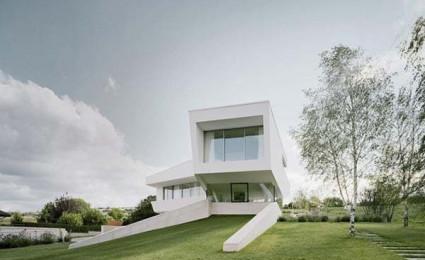 Biệt thự màu trắng tại Vienna.