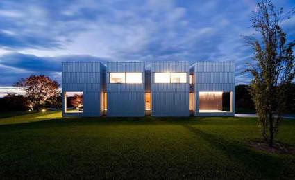 Ngôi nhà bốn khối lập phương.