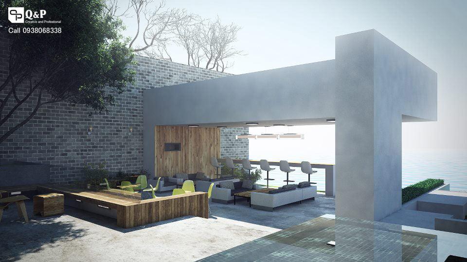 Thiết kế cải tạo quán cafe Gió Biển - Hàm Thuận Nam