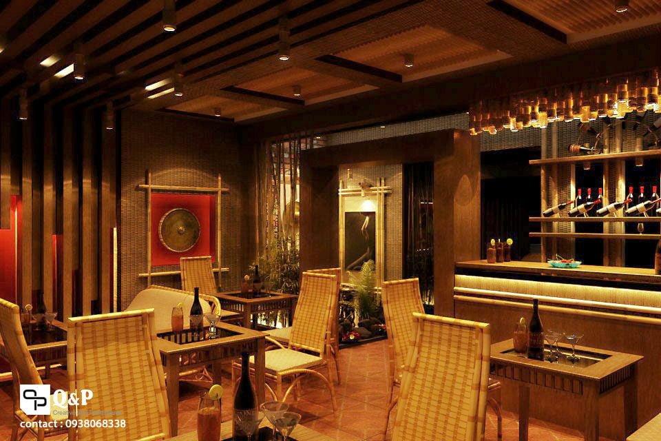 cafe san vuon 12 Thiết kế Cafe Sân Vườn Cowboy qpdesign
