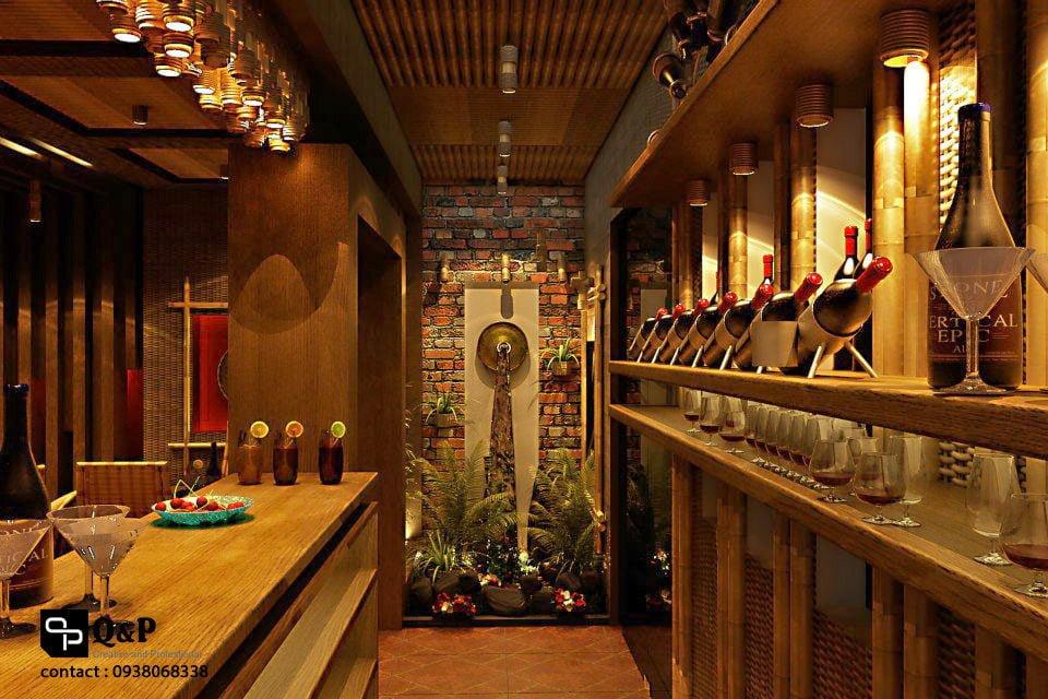 cafe san vuon 6 Thiết kế Cafe Sân Vườn Cowboy qpdesign