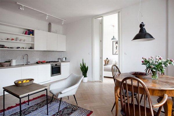 Nét đẹp hiện đại của căn hộ chung cư tại Ba Lan