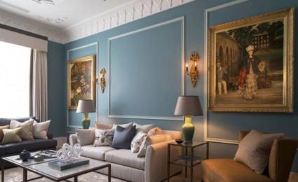 Chung cư phong cách cổ điển tại London.
