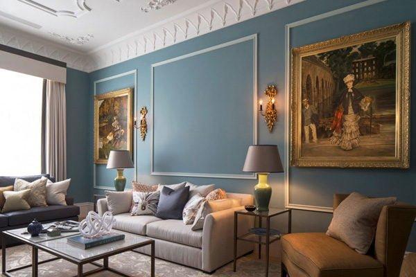 chung cu 2 Chung cư phong cách cổ điển tại London. qpdesign