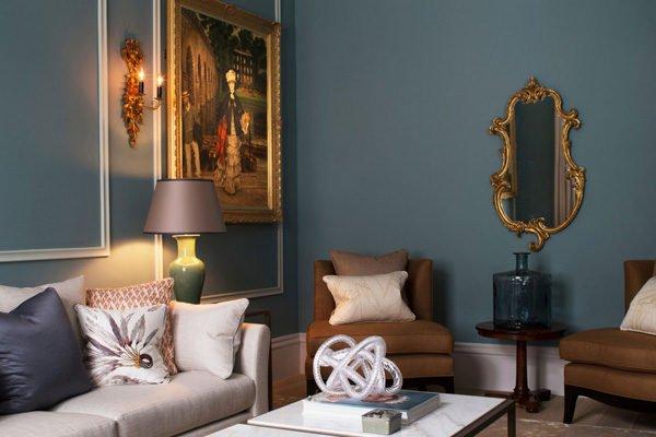 chung cu 3 Chung cư phong cách cổ điển tại London. qpdesign