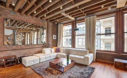 Căn hộ chung cư phong cách Rustic tại New York