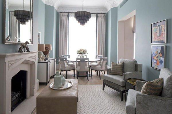 chung cu 4 Chung cư phong cách cổ điển tại London. qpdesign