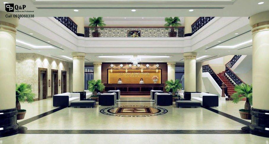 Thiết kê nội thất khách sạn