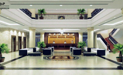 Thiết kế nội thất khách sạn Đức Long – Dung Quất