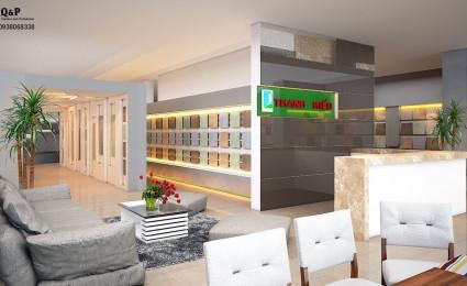 thiết kế showroom nội thất