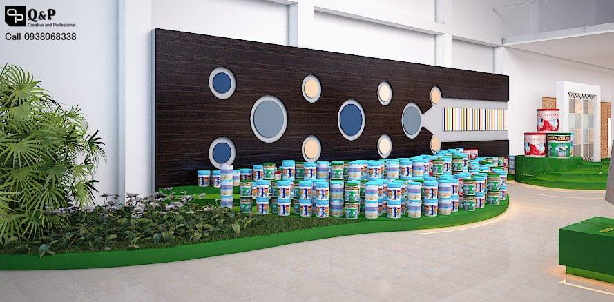 showroom noi that 5 Thiết kế showroom nội thất Thanh Kiều Chư Sê qpdesign