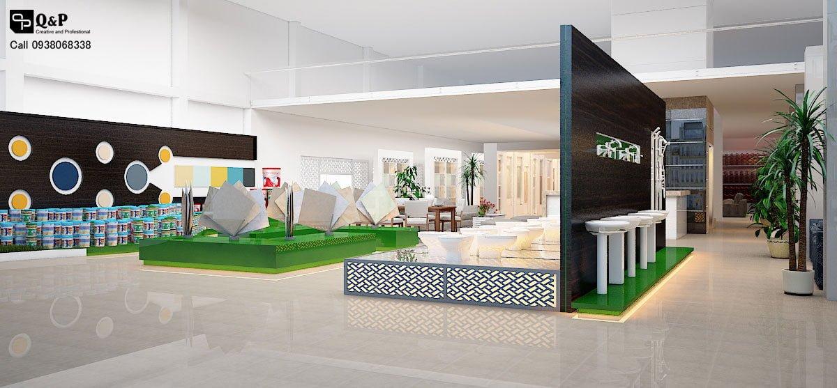 showroom noi that 7 Thiết kế showroom nội thất Thanh Kiều Chư Sê qpdesign